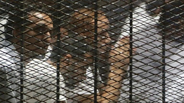Gefängnis in Ägypten (Foto: picture-alliance / Reportdienste, picture-alliance / Reportdienste -)