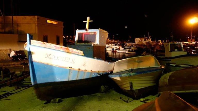 altes Fischerboot auf Sizilien (Foto: SWR, SWR - Werner Cee)