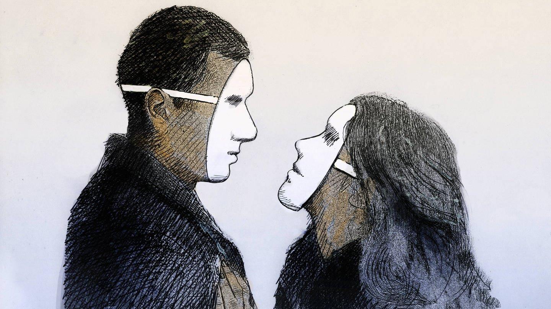 Anders als Philosophie und Theologie verdammt die psychologische Forschung die Heuchelei nicht, sondern versucht das tief in der menschlichen Psyche verwurzelte Verhalten zu verstehen (Foto: Imago, imago/Ikon Images)