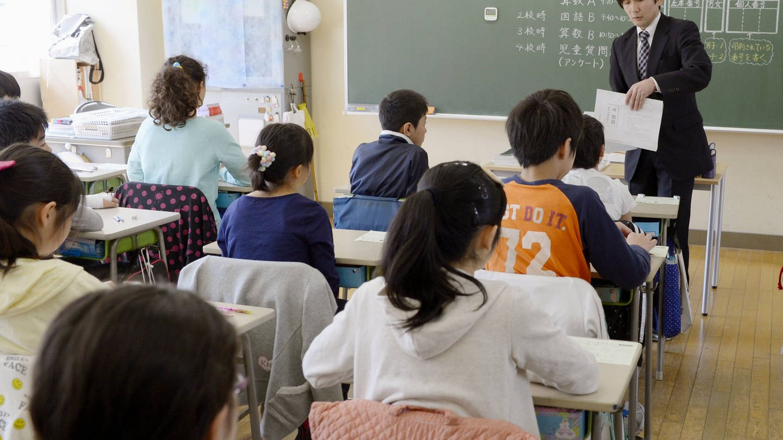 Grundschulklasse in Tokio / Japan (Foto: Imago, imago/Kyodo News)
