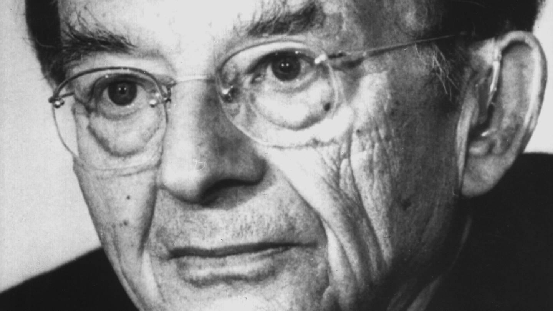Der deutsch-amerikanische Psychoanalytiker Erich Fromm (Foto: dpa Bildfunk, picture-alliance/ dpa/dpaweb)