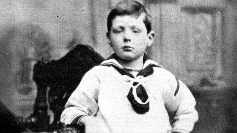 Winston Churchill (1874 - 1965) als 7-Jähriger (Foto: Imago, imago images / United Archives International)