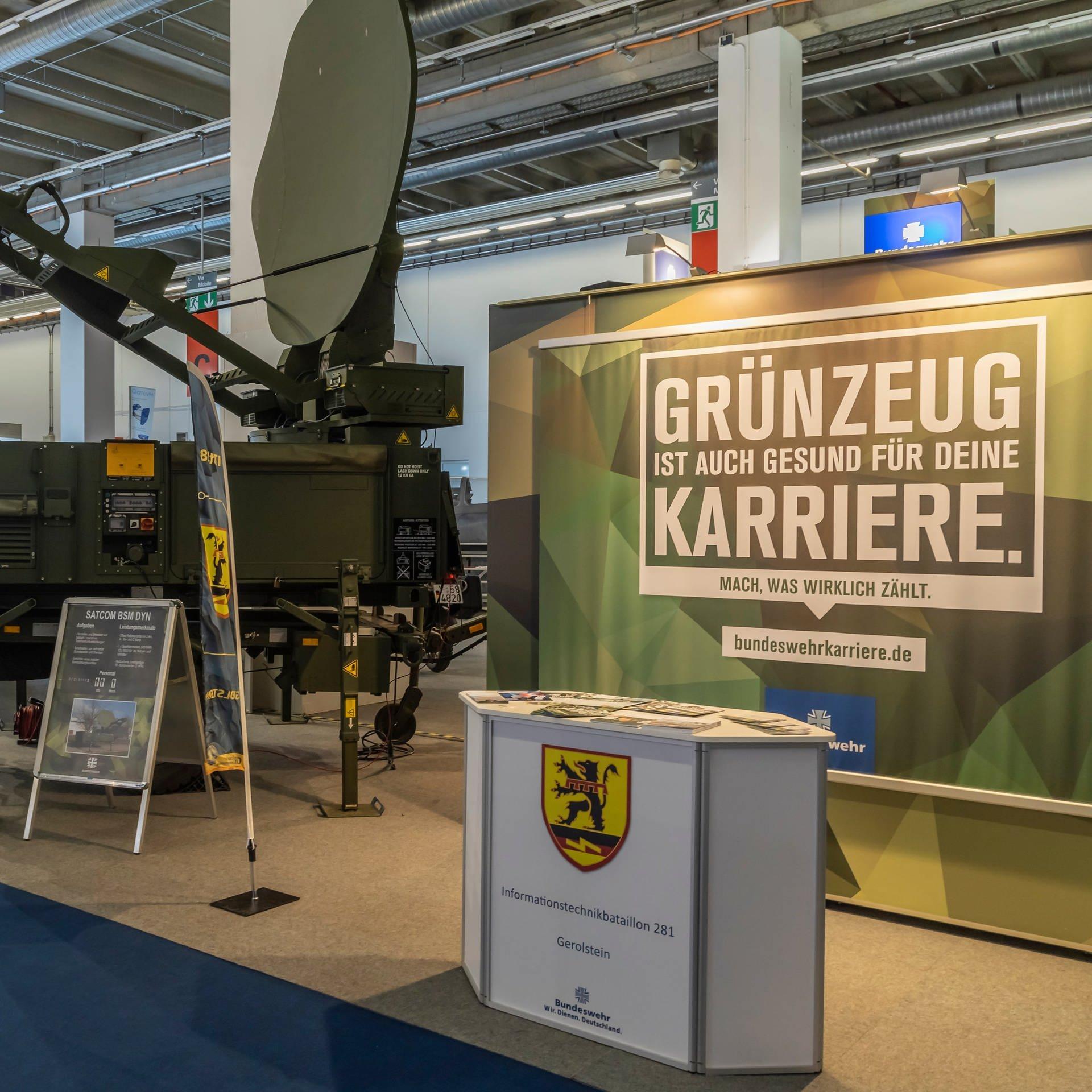 Wie die Bundeswehr um Nachwuchs wirbt