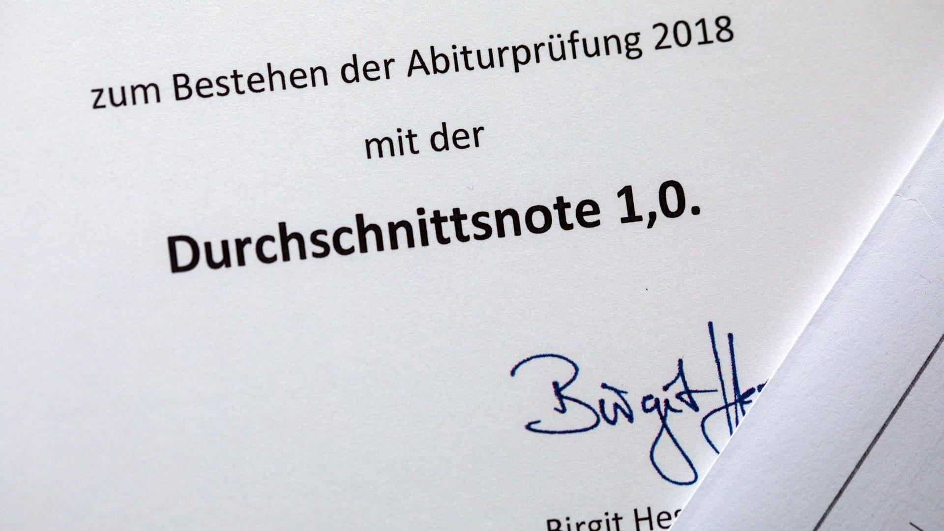 Durchschnittsnote abitur baden württemberg 2017