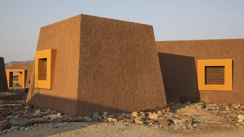 Häuser aus Wüstensand in Namibia