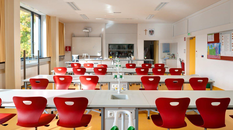 Modernes Klassenzimmer (Foto: Imago, imago images/viennaslide)