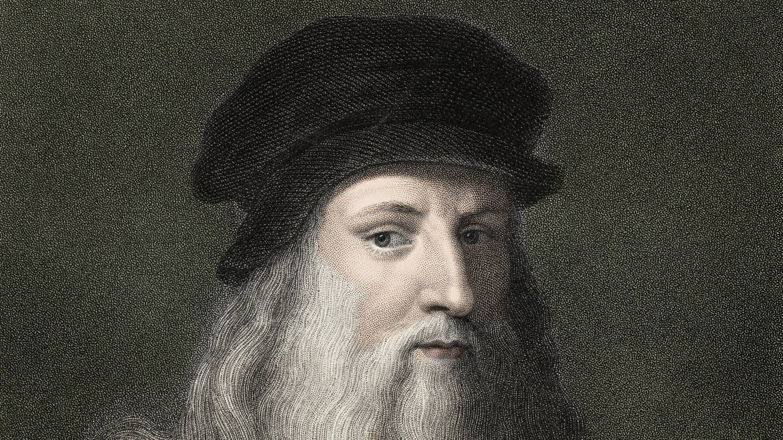 Leonardo da Vinci (1452 - 1519). Stich aus dem 19. Jahrhundert (Foto: Imago, imago images / Leemage)