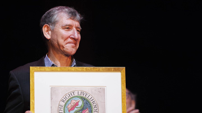 Tony Rinaudo erhielt 2018 in Stockholm den Right Livelihood Award, den