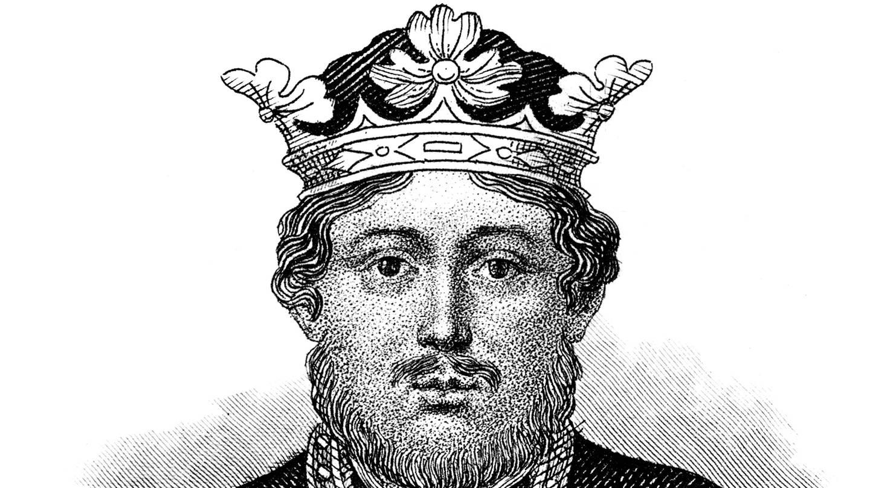 Der englische König Richard Löwenherz
