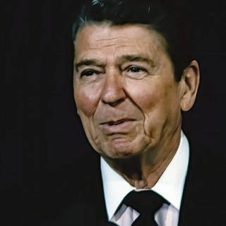US-Präsident Ronald Reagan (1911 - 2004) 1986 in Washington (Foto: Imago, imago images / ZUMA Press)