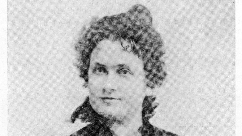 Maria Montessori (1870 - 1952), italienische Ärztin und Reformpädagogin, um 1896