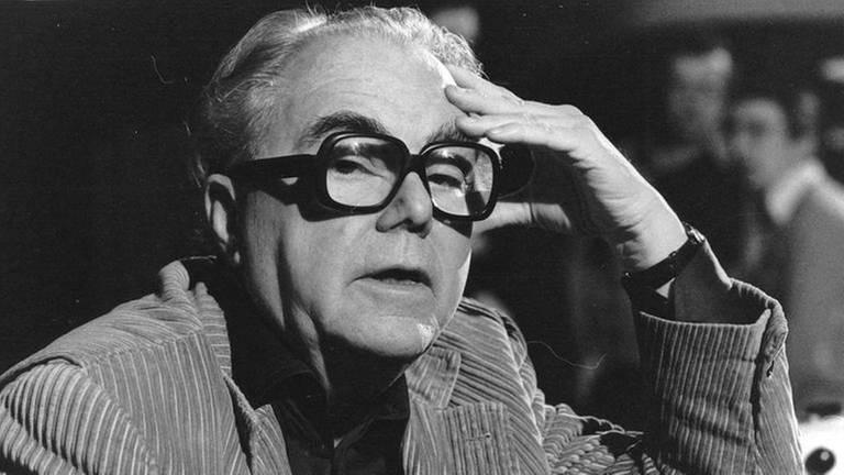 Schriftsteller Max Frisch um 1980. Er schrieb u. a. Homo faber (Foto: picture-alliance / dpa, picture-alliance / dpa - Votava)