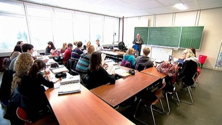 Schulklasse während des Unterrichts (Foto: SWR, SWR -)