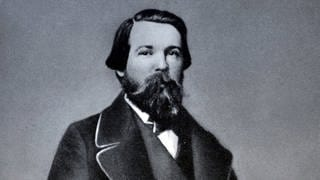 Friedrich Engels 1846 (Foto: Imago, imago images / United Archives International)