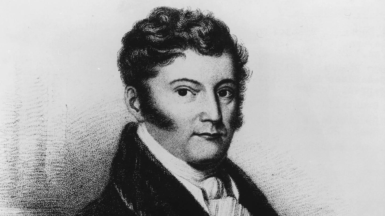 Maximilian, Prinz zu Wied-Neuwied, Reisender und Schriftsteller (1782 - 1867). Radierung von Heinrich Meyer (1802 - 1877).