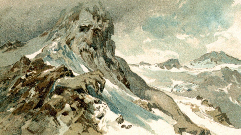Entgangen den Griffen des grimmigen Greiner. Postkarte um 1905 (Foto: Imago, imago images / KHARBINE-TAPABOR)