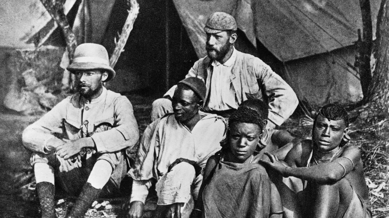 Gustav Adolf Graf von Götzen (1866 - 1910) als Gouverneur von Deutsch-Ostafrika auf einer Erkundungsreise ins Innere der Kolonie (um 1905) (Foto: picture-alliance / Reportdienste, picture alliance / akg-images | akg-images)