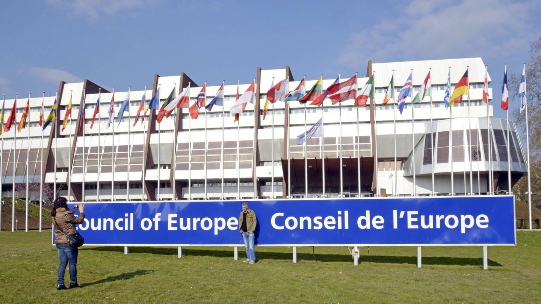 Außenaufnahme Europarat in Straßburg (Foto: Imago, Europarat in Straßburg)