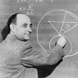 Enrico Fermi, Italian-American physicist. Ca. 1945 (Foto: Imago,  picture alliance / Everett Collection)