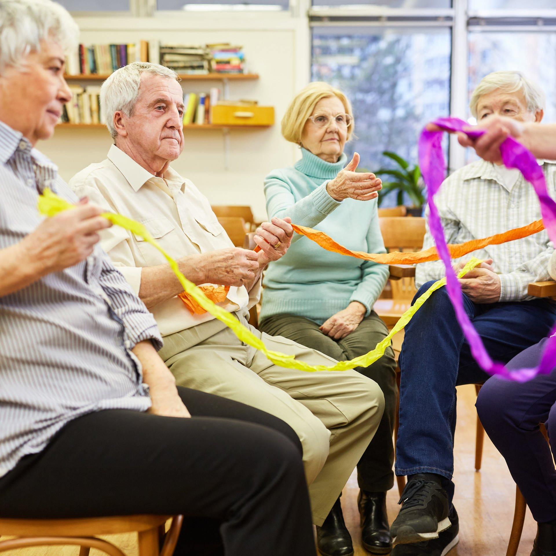 Therapie bei Demenz – Alternativen zum Ruhigstellen