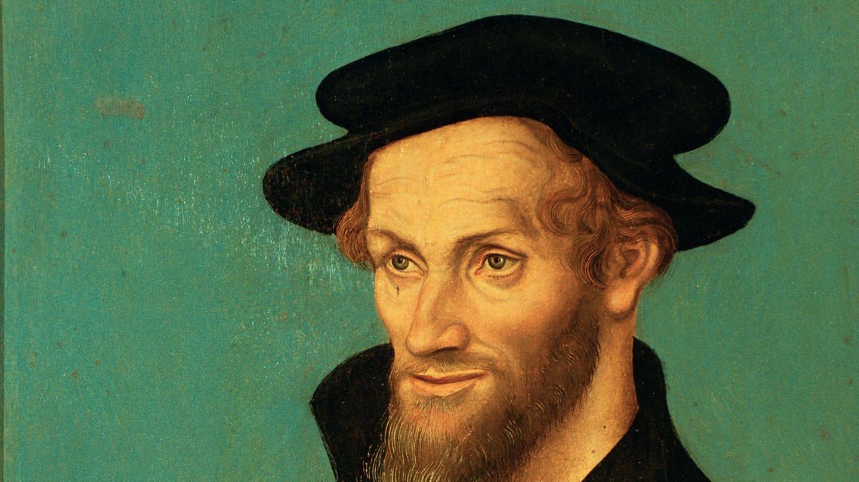 picture-alliance / akg-images | akg-images (Foto: picture-alliance / Reportdienste, Philipp Melanchthon (1497 - 1560), Gemälde aus der Cranach-Werkstatt, Mitte 16. Jahrhundert)