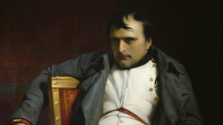 Napoleon I. Bonaparte, Kaiser der Franzosen (1769 - 1821). Gemälde von Paul Delaroche (1797 - 1856). Öl auf Leinwand, 1845 (Foto: picture-alliance / Reportdienste, picture alliance / akg-images / Nemeth | akg-images / Nemeth)
