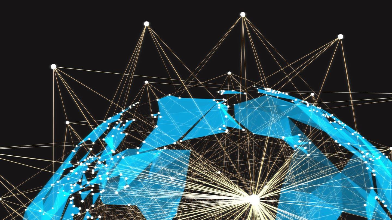 Futuristische Netzwerktechnologie