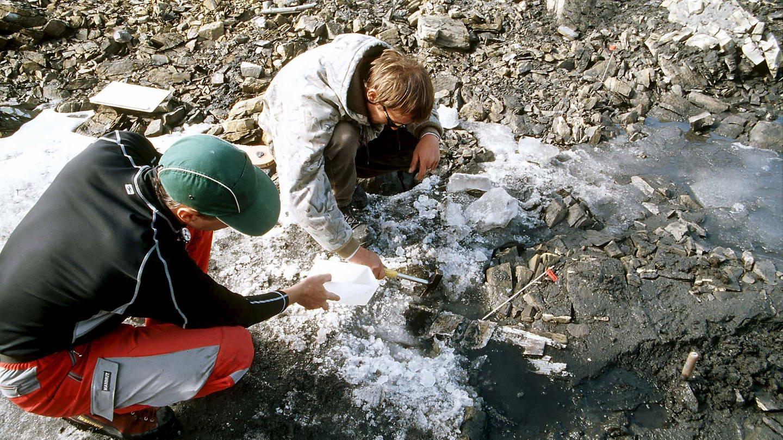 Gletscherarchäologie in der Schweiz