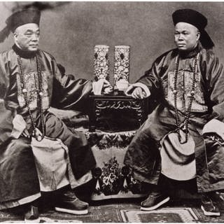 Chinesische Beamte um 1900 (Foto: picture-alliance / Reportdienste, picture alliance/Glasshouse Images)
