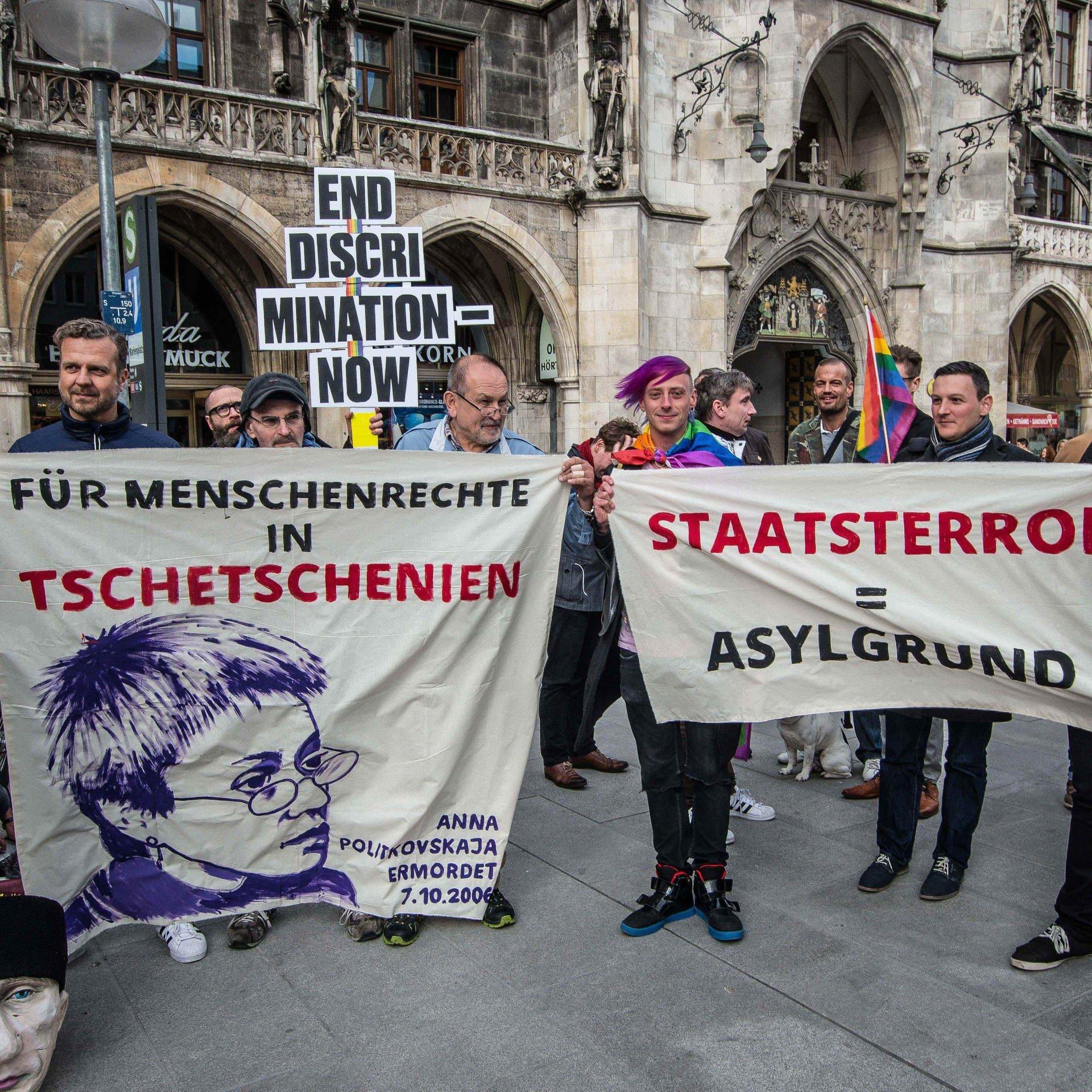 Tschetschenen im europäischen Exil