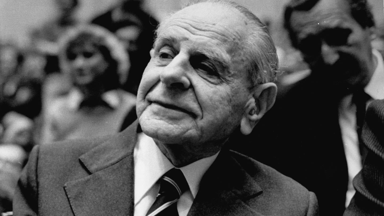 Der Philosoph Karl Popper 1981. (Foto: picture-alliance / Reportdienste, akg-images)
