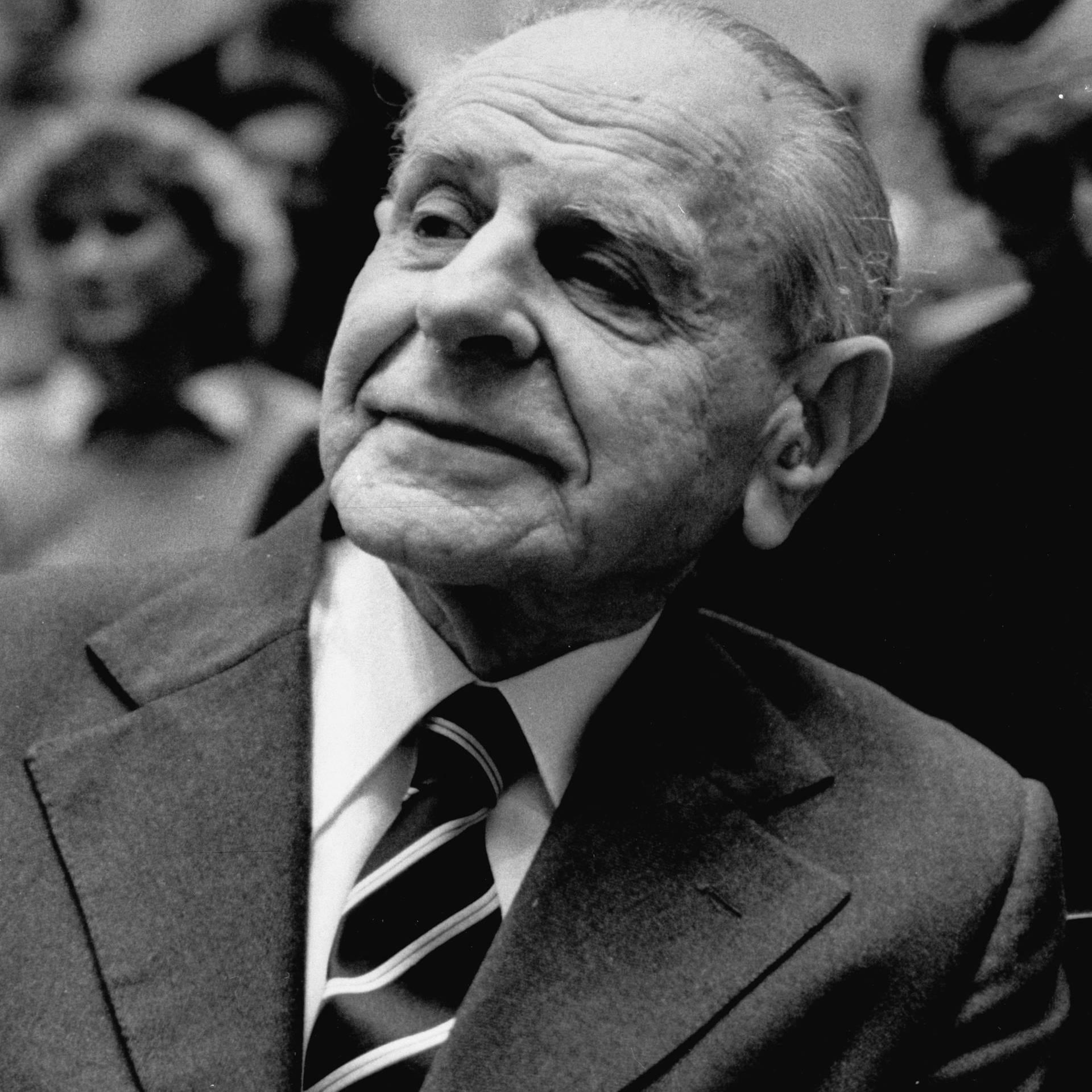 """Der Philosoph Karl Popper und die """"offene Gesellschaft"""""""