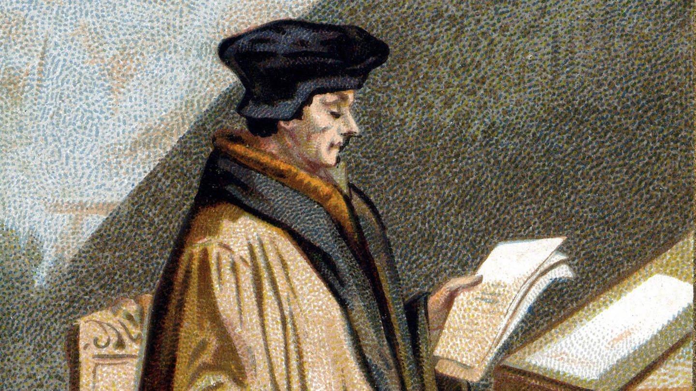 Erasmus von Rotterdam (Lithographie) (Foto: Imago, imago/Leemage)