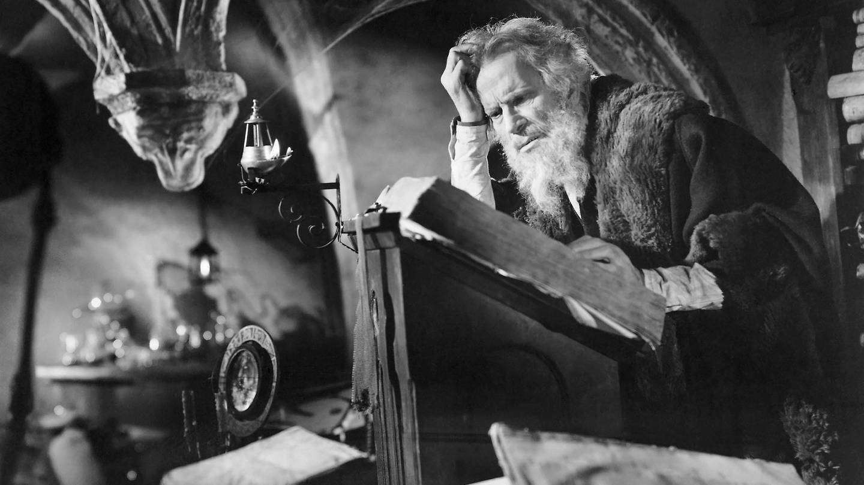 Gino Mattera, Szene aus Faust und der Teufel, 1950 (Foto: picture-alliance / Reportdienste, picture alliance/Glasshouse Images)