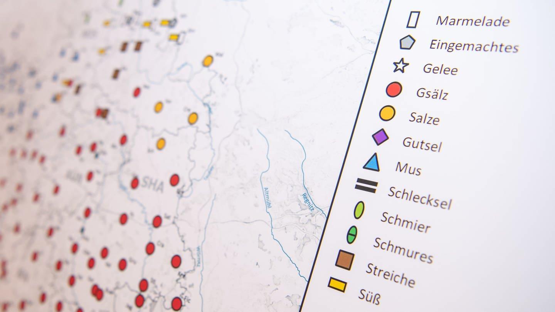 Karte aus dem