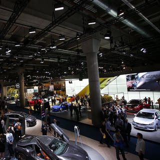 Messegelände Frankfurt IAA 2019 (Foto: picture-alliance / Reportdienste, picture alliance / Hasan Bratic)