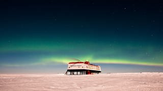 Neumayer-Station III (Foto: picture-alliance / Reportdienste, picture alliance / Stefan Christmann/Alfred Wegener Institut für Pola/dpa)