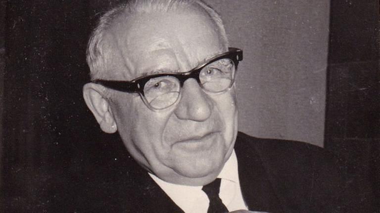 Otto Fleischer 1967 (Foto: Maximilian Schönherr -)