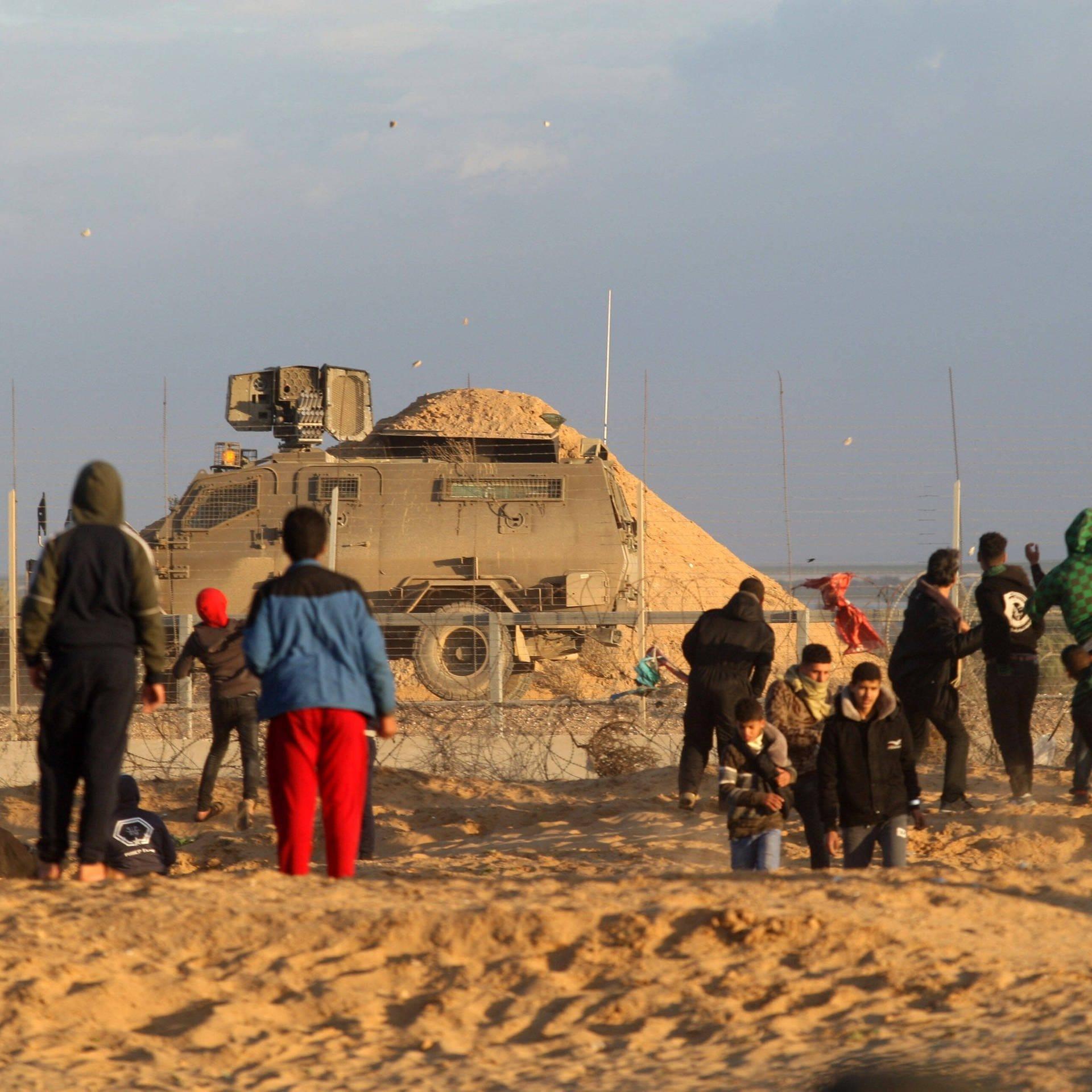 Gaza Blues – Vom Leben in Gefangenschaft