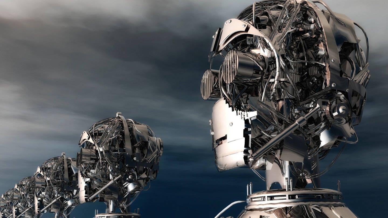 Roboter (Foto: picture-alliance / Reportdienste, picture alliance/chromorange)