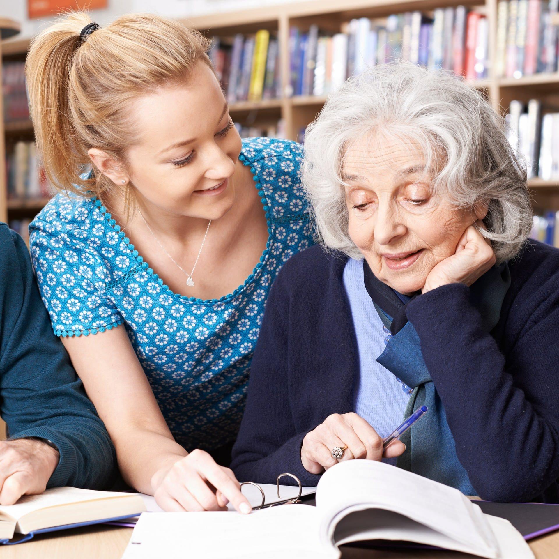 Lernen im Alter – Neue Angebote für Senioren