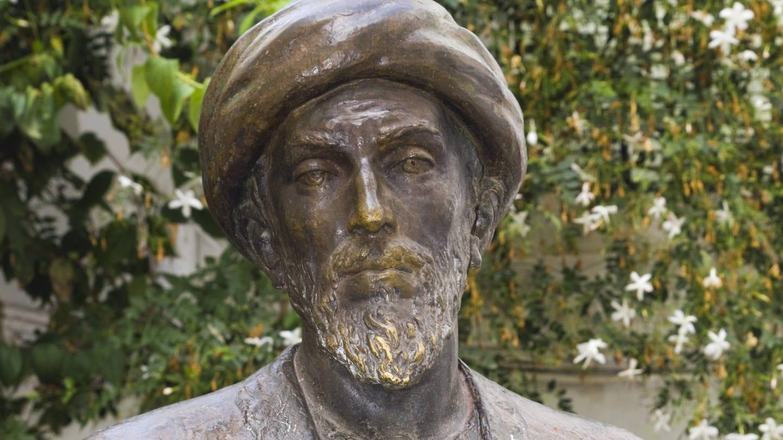 Statue des jüdischen Philosophen Moses Maimonides in Cordoba / Spanien (Foto: Imago, imago images / Design Pics)