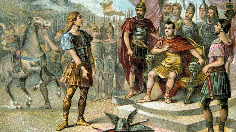 Vercingetorix gegen Julius Caesar (Foto: Imago, imago images / Photo12)