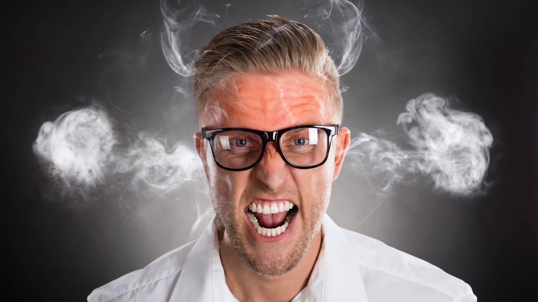Wut hat einen verpönten Ruf. Psychologinnen und Psychologen treten für einen positiveren Umgang mit der Emotion ein. (Foto: Imago,  imago images / Panthermedia)