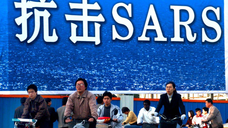China: Ursprung der SARS-Pandemie 2002 - 2004. (Foto: picture-alliance / Reportdienste, Yang Xi)