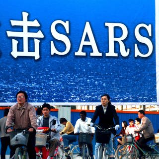 China: Ursprung der SARS-Pandemie 2002 - 2004.  (Foto: picture-alliance / Reportdienste, Yang Xi)