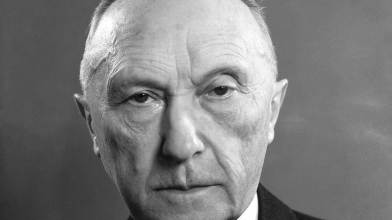 Konrad Adenauer 1951 (Foto: picture-alliance / Reportdienste, picture alliance/KEYSTONE)