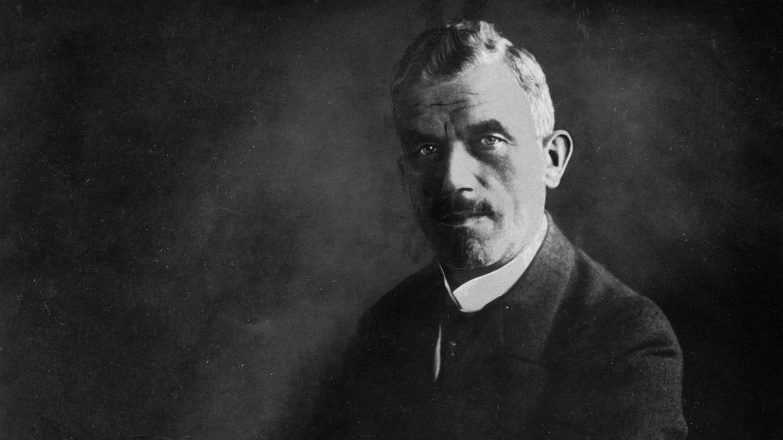 Ludwig Dürr (1878 - 1956), Luftschiffkonstrukteur bei der Zeppelin-Gesellschaft), Foto um 1925