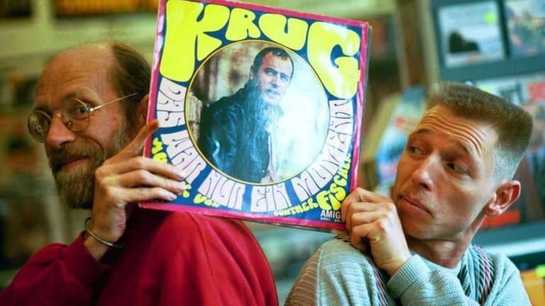 Zwei Berliner sind die größten Sammler von Amiga-Platten (Foto: dpa Bildfunk, picture-alliance / Berliner_Zeitung - Fröhling Mike)