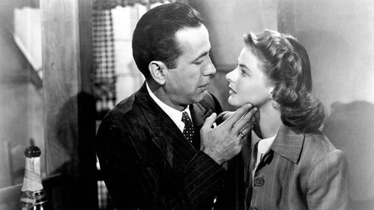 Humphrey Bogart und Ingrid Bergman